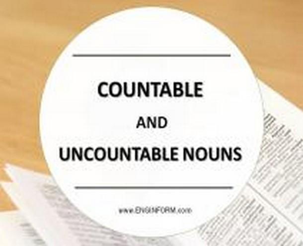 исчисляемые и неисчисляемые существительные в английском примеры